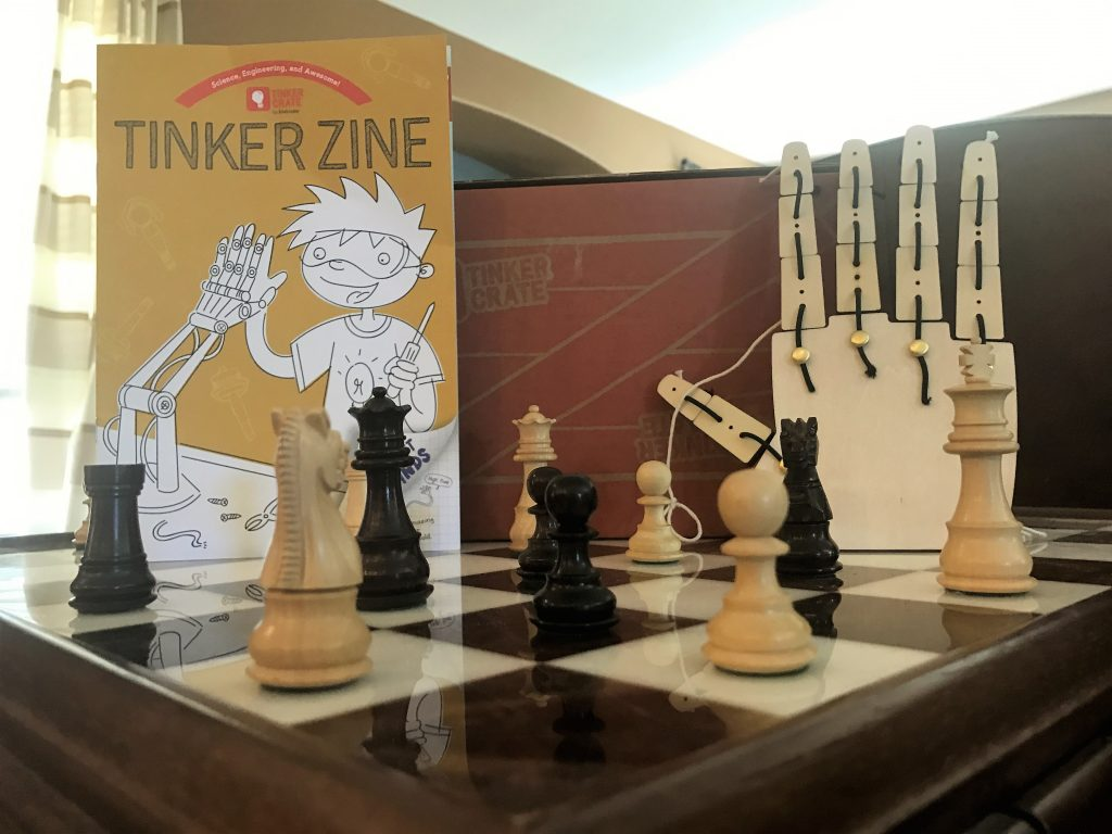 Tinker Crate Review April 2017