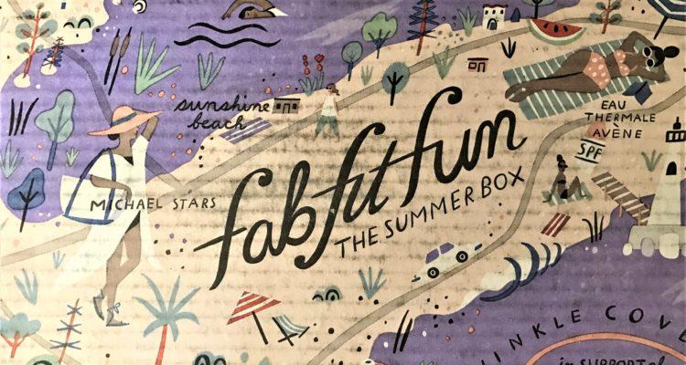 FabFitFun Summer 2017 Box Review