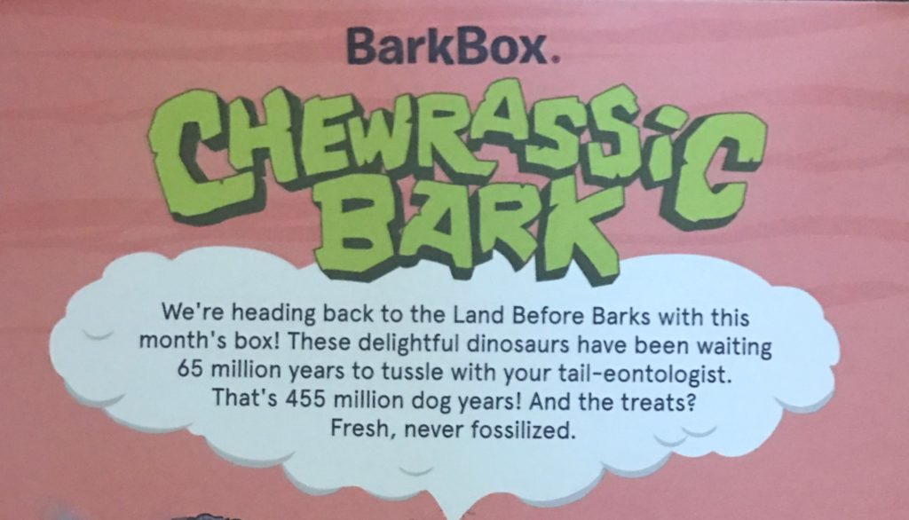 Bark Box June 2017 Review