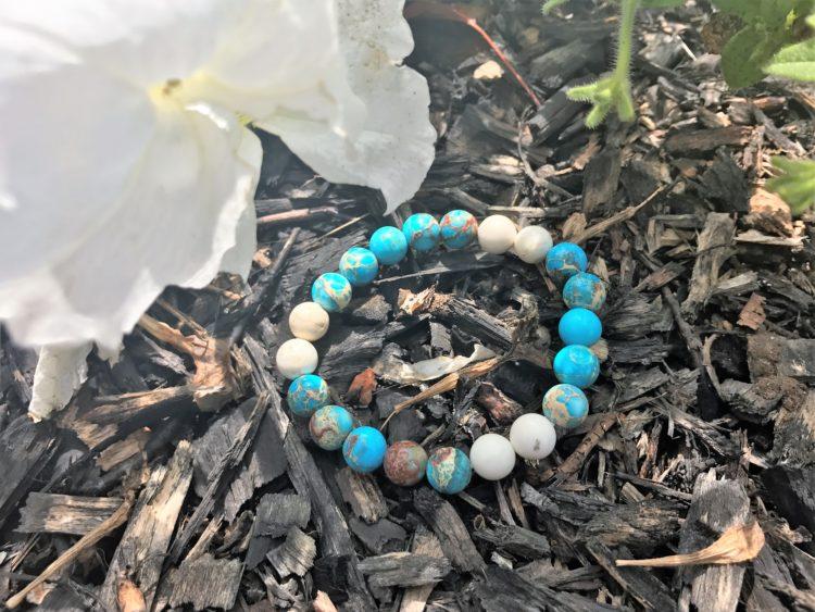 Yogi Surprise July 2017 Jewelry Box Jasper Bead Bracelet Review