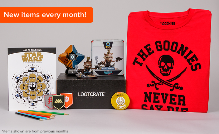 Loot Crate Reivew