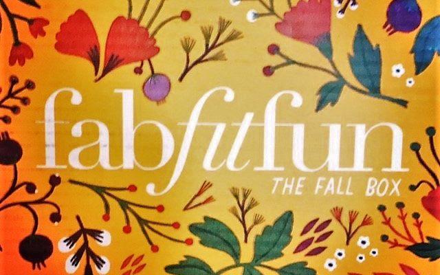 FabFitFun Fall 2017 Box Review + Coupon