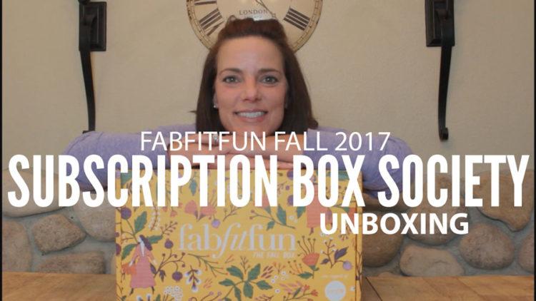 FabFitFun Fall 2017 Unboxing