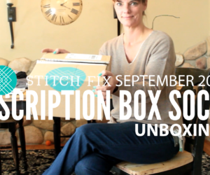 Stitch Fix Unboxing September 2017