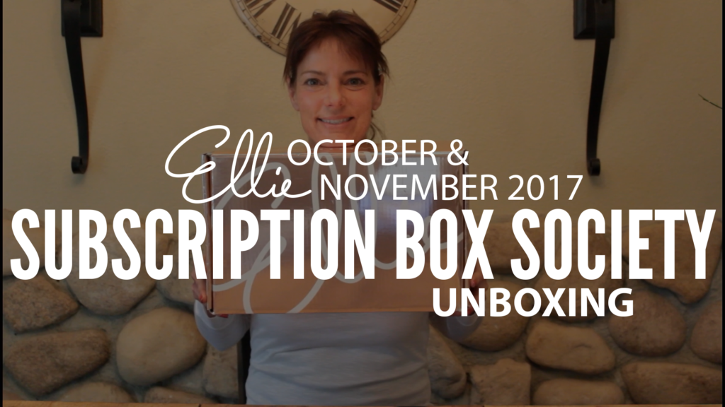 Ellie November 2017 Unboxing