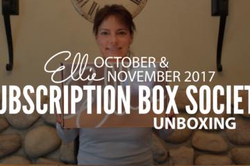 Ellie November 2017 Unboxing