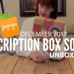 Orange Peel December 2017 Unboxing