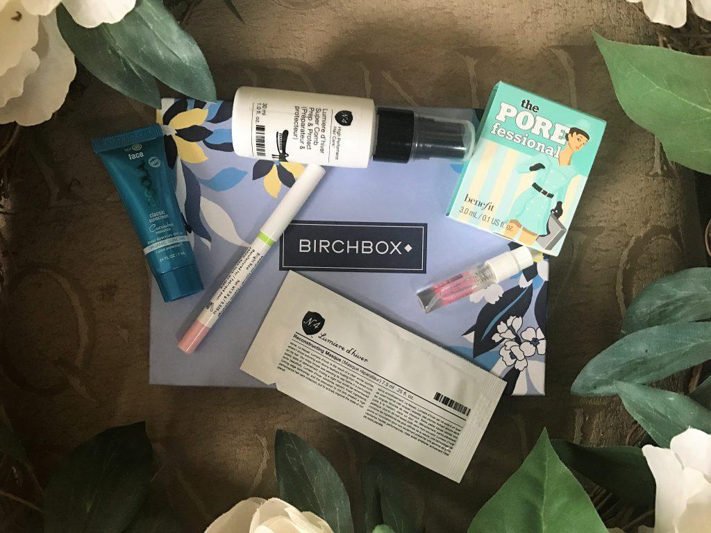 Birchbox March 2017 Contents