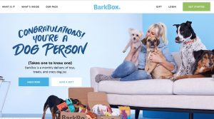 Bark Box First Impressions Site Review