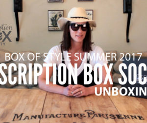 Box of Style Unboxing Summer 2017