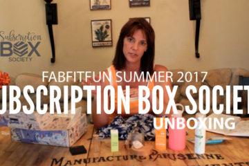 FabFitFun Summer Unboxing 2017