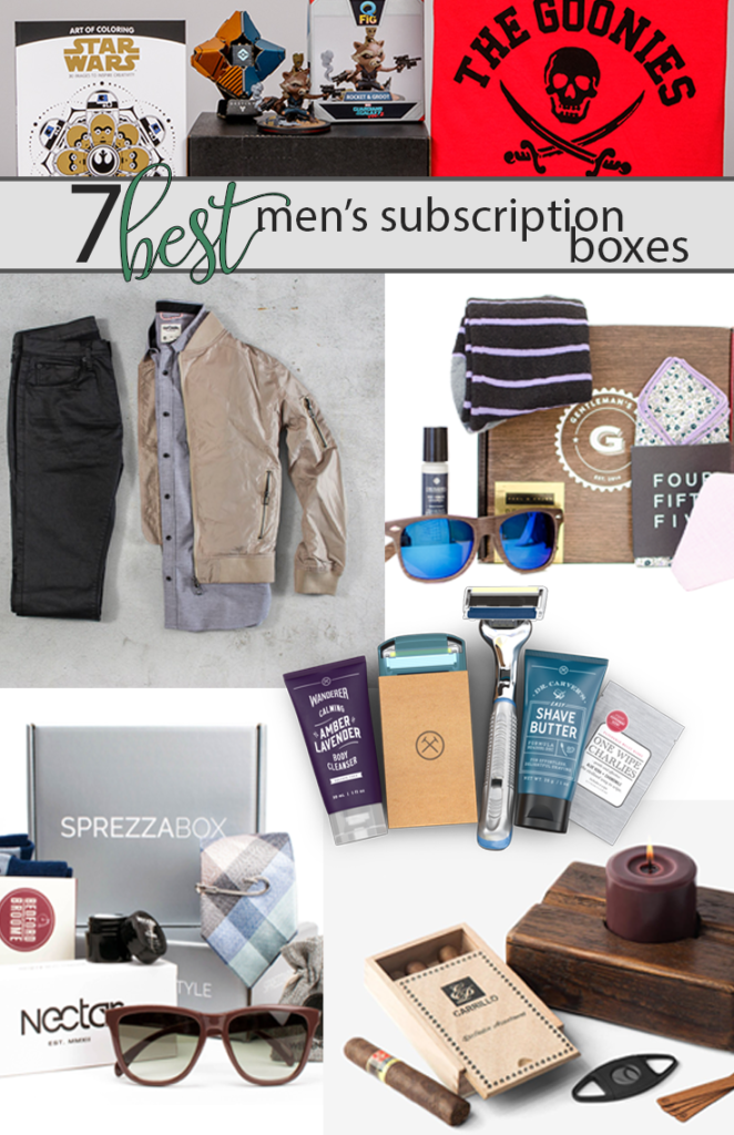 Best mens monthly box subscriptions