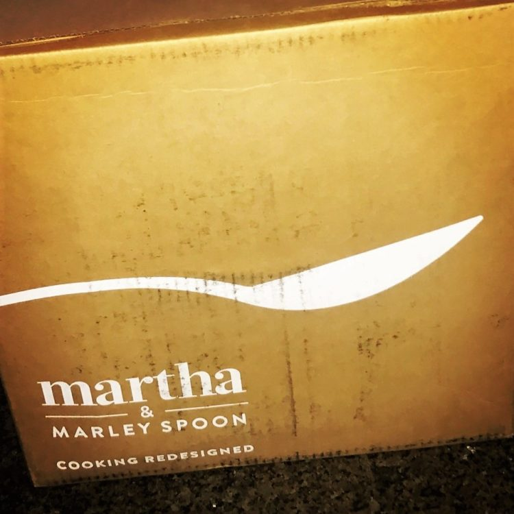 Martha & Marley Spoon August 2017 Review