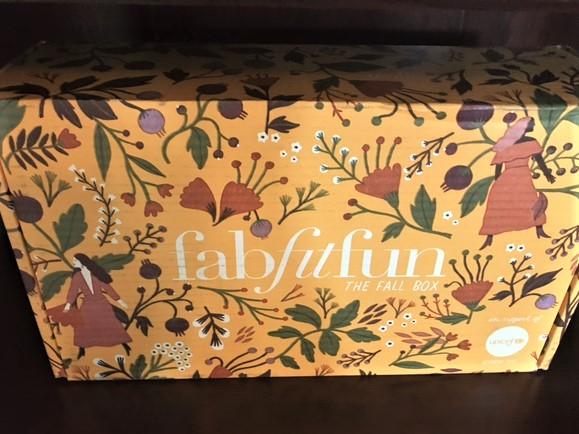 FabFitFun Fall Box 2017 Review + $10.00 Coupon