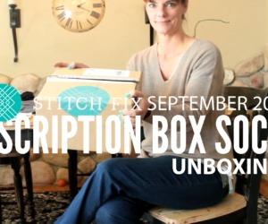 Stitch Fix Unboxing September 2017