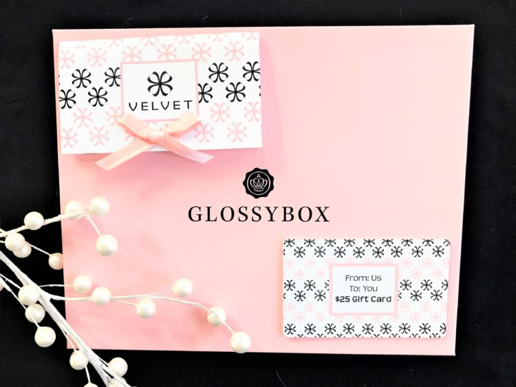 GLOSSYBOX January 2018 Review