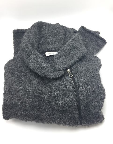 JustFab Cozy Zip Sweater Review