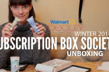 Walmart Beauty Winter 2018 Unboxing